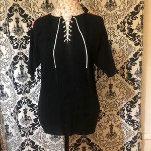Victoria Jones Short Sleeve Sweater